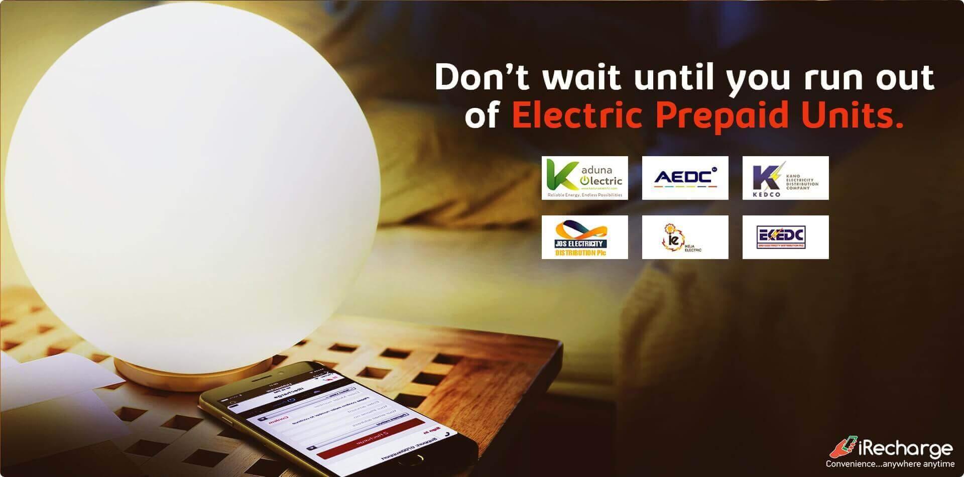 iRecharge   Buy Instant Electricity Online